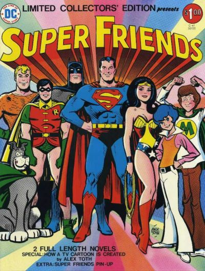 Cover for Limited Collectors' Edition (DC, 1972 series) #C-41