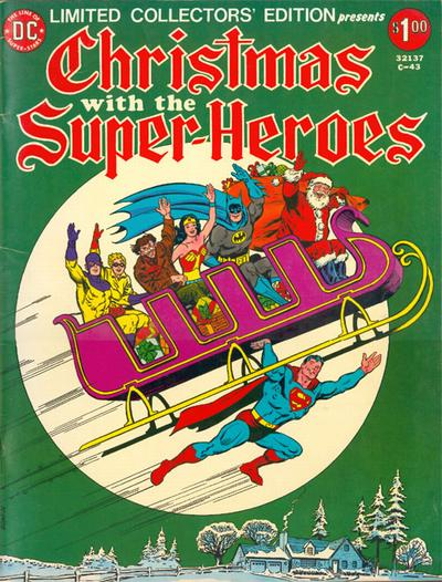 Cover for Limited Collectors' Edition (DC, 1972 series) #C-43
