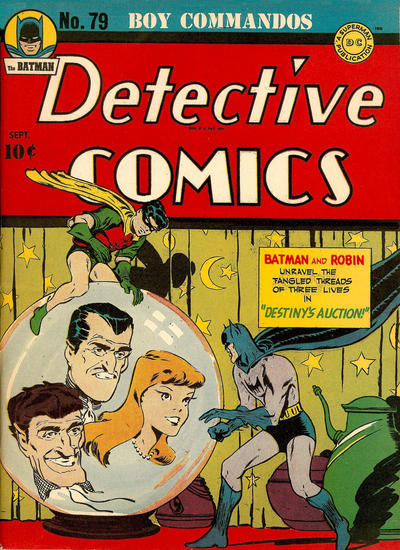 Cover for Detective Comics (DC, 1937 series) #79