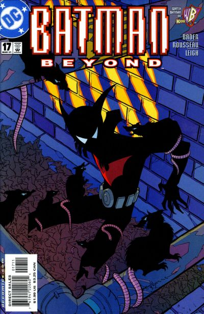 Cover for Batman Beyond (DC, 1999 series) #17