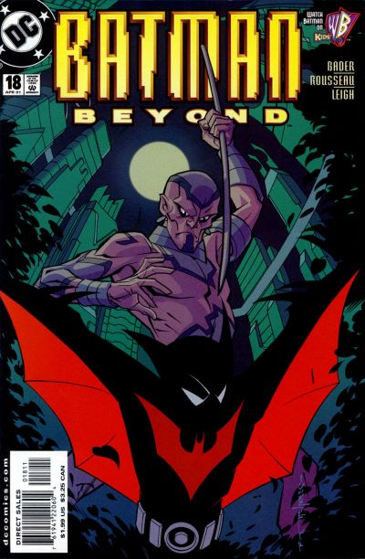 Cover for Batman Beyond (DC, 1999 series) #18