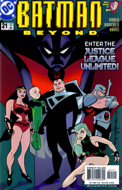 Cover for Batman Beyond (DC, 1999 series) #21