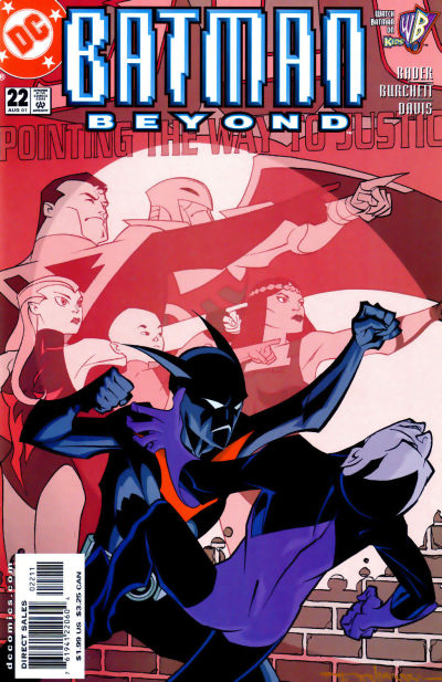 Cover for Batman Beyond (DC, 1999 series) #22