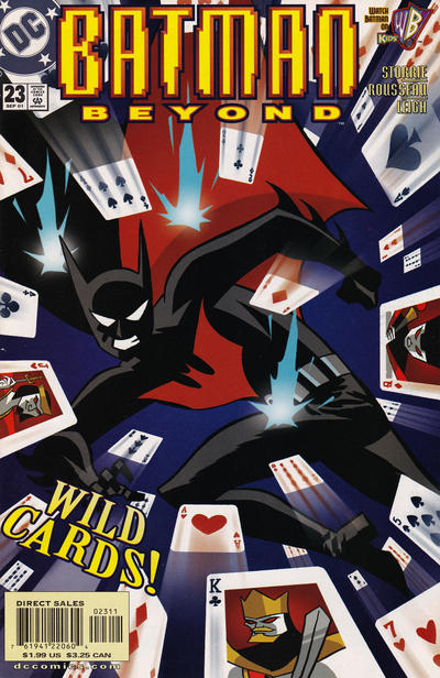 Cover for Batman Beyond (DC, 1999 series) #23