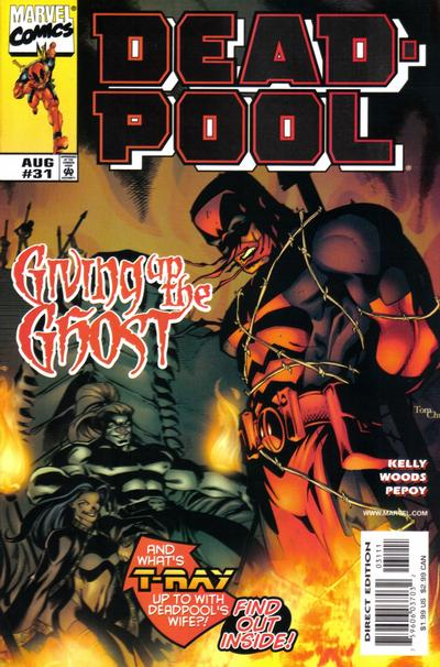 Cover for Deadpool (Marvel, 1997 series) #31 [Direct Edition]