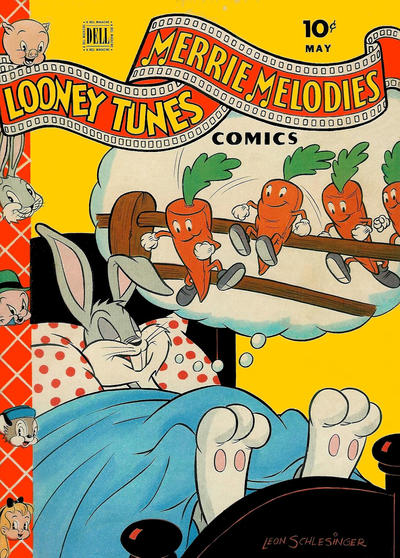Cover for Looney Tunes and Merrie Melodies Comics (Dell, 1941 series) #43