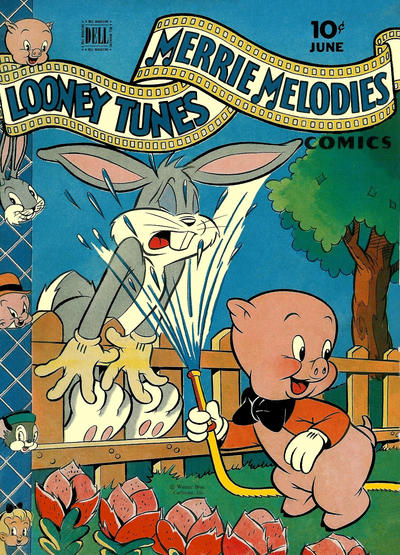 Cover for Looney Tunes and Merrie Melodies Comics (Dell, 1941 series) #44