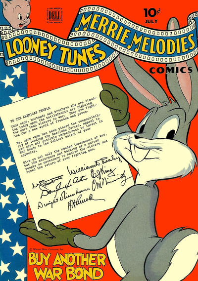Cover for Looney Tunes and Merrie Melodies Comics (Dell, 1941 series) #45