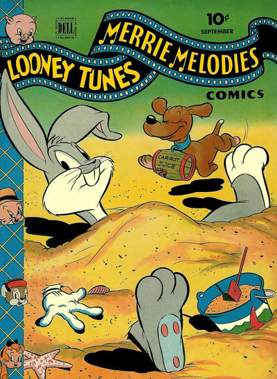 Cover for Looney Tunes and Merrie Melodies Comics (Dell, 1941 series) #47