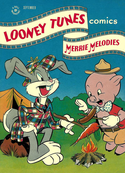 Cover for Looney Tunes and Merrie Melodies Comics (Dell, 1941 series) #59