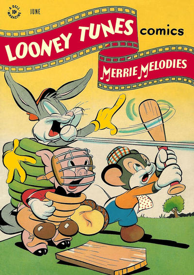 Cover for Looney Tunes and Merrie Melodies Comics (Dell, 1941 series) #68