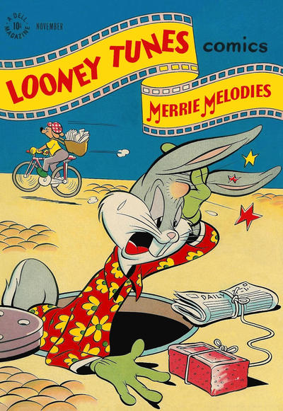 Cover for Looney Tunes and Merrie Melodies Comics (Dell, 1941 series) #73