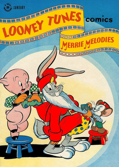 Cover for Looney Tunes and Merrie Melodies Comics (Dell, 1941 series) #75