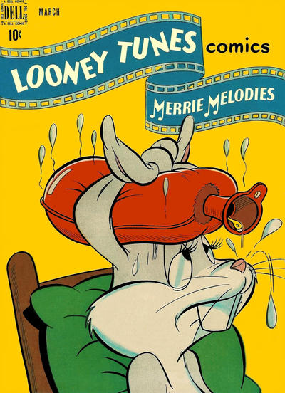 Cover for Looney Tunes and Merrie Melodies Comics (Dell, 1941 series) #77