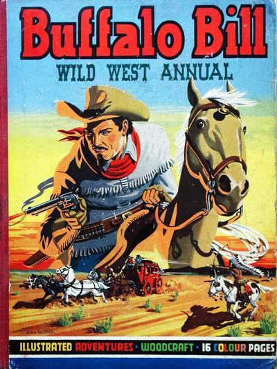 Cover for Buffalo Bill Wild West Annual (T. V. Boardman, 1949 series) #2