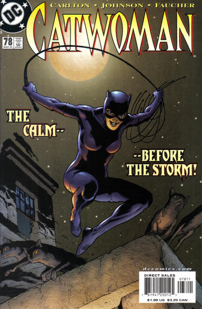 Cover for Catwoman (DC, 1993 series) #78