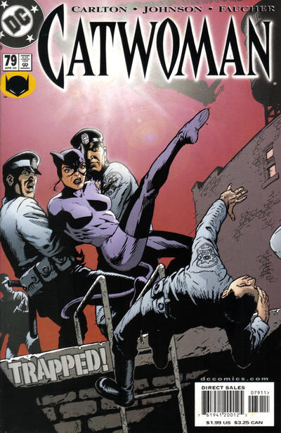Cover for Catwoman (DC, 1993 series) #79 [Direct Edition]