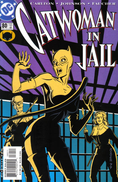 Cover for Catwoman (DC, 1993 series) #80 [Direct Edition]