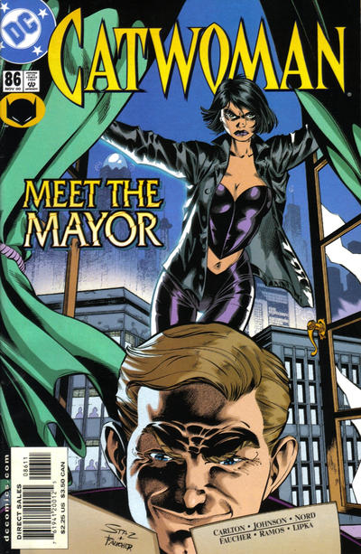 Cover for Catwoman (DC, 1993 series) #86 [Direct Edition]