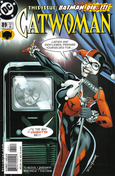 Cover for Catwoman (DC, 1993 series) #89