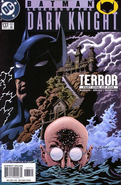 Cover for Batman: Legends of the Dark Knight (DC, 1992 series) #137