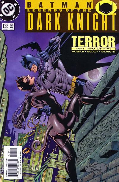 Cover for Batman: Legends of the Dark Knight (DC, 1992 series) #138