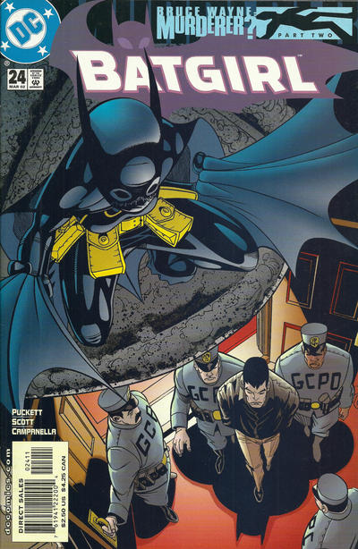 Cover for Batgirl (DC, 2000 series) #24