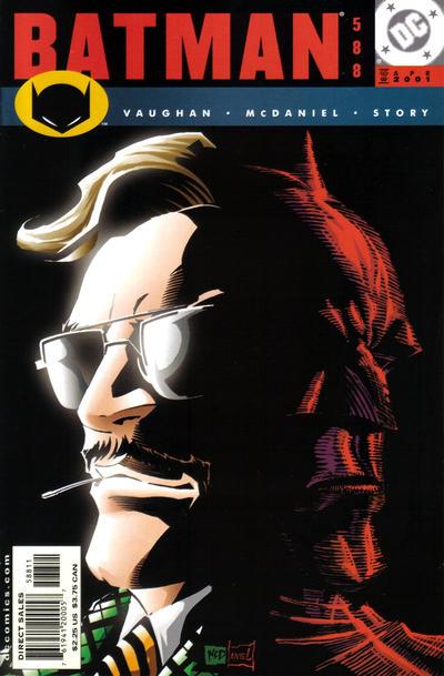 Cover for Batman (DC, 1940 series) #588