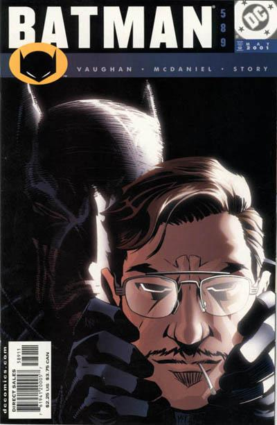 Cover for Batman (DC, 1940 series) #589