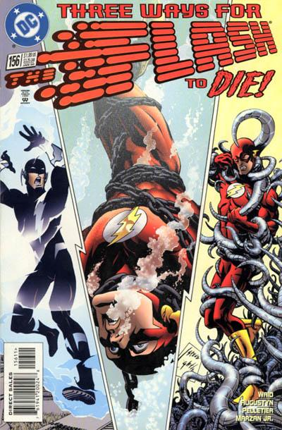 Cover for Flash (DC, 1987 series) #156