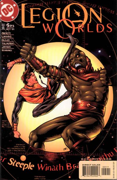 Cover for Legion Worlds (DC, 2001 series) #5