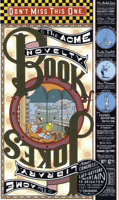 Cover for Acme Novelty Library (Fantagraphics, 1993 series) #7