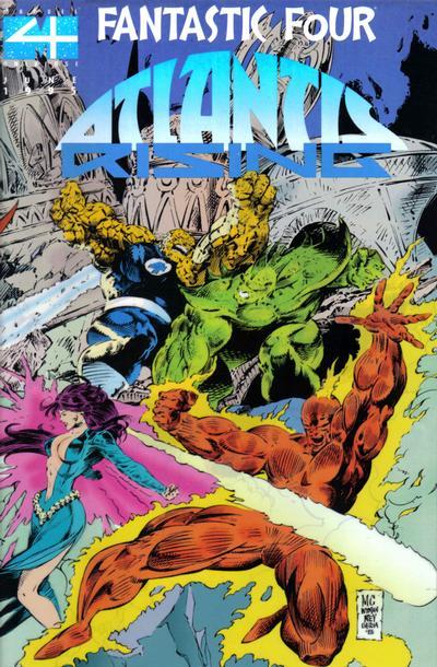 Cover for Fantastic Four: Atlantis Rising (Marvel, 1995 series) #1