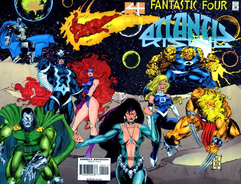 Cover for Fantastic Four: Atlantis Rising (Marvel, 1995 series) #2