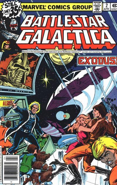 Cover for Battlestar Galactica (Marvel, 1979 series) #2 [Regular Edition]