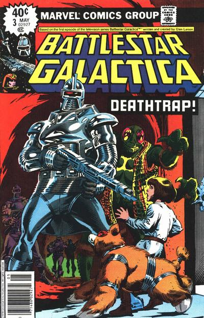 Cover for Battlestar Galactica (Marvel, 1979 series) #3 [Regular Edition]