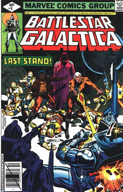 Cover for Battlestar Galactica (Marvel, 1979 series) #8 [Direct Edition]