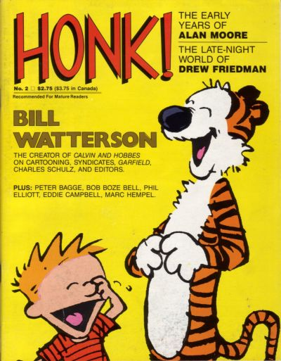 Cover for Honk! (Fantagraphics, 1986 series) #2