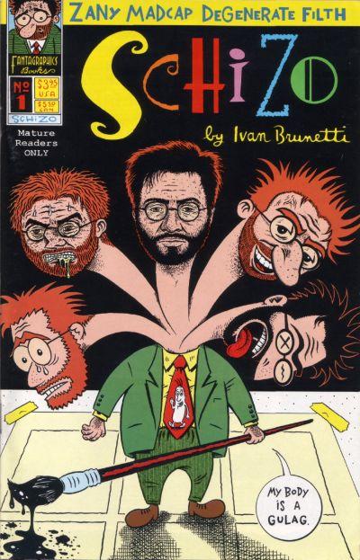 Cover for Schizo (Fantagraphics, 1995 series) #1