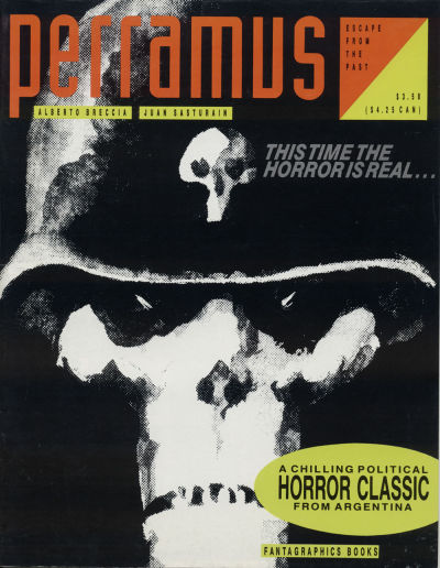 Cover for Perramus: Escape from the Past (Fantagraphics, 1991 series) #1