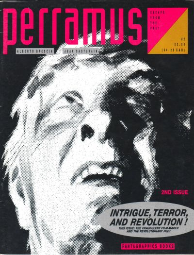 Cover for Perramus: Escape from the Past (Fantagraphics, 1991 series) #2