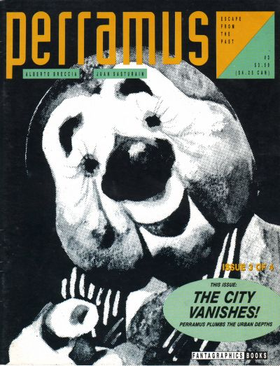 Cover for Perramus: Escape from the Past (Fantagraphics, 1991 series) #3