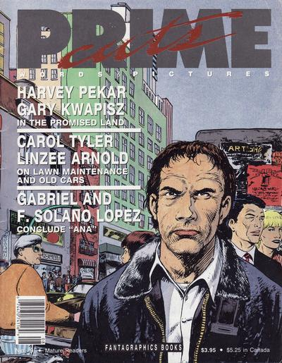 Cover for Prime Cuts (Fantagraphics, 1986 series) #9