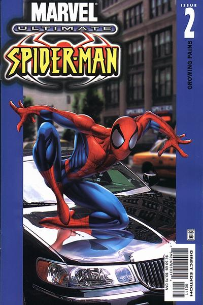 Cover for Ultimate Spider-Man (Marvel, 2000 series) #2