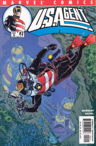 Cover for USAgent (Marvel, 2001 series) #2