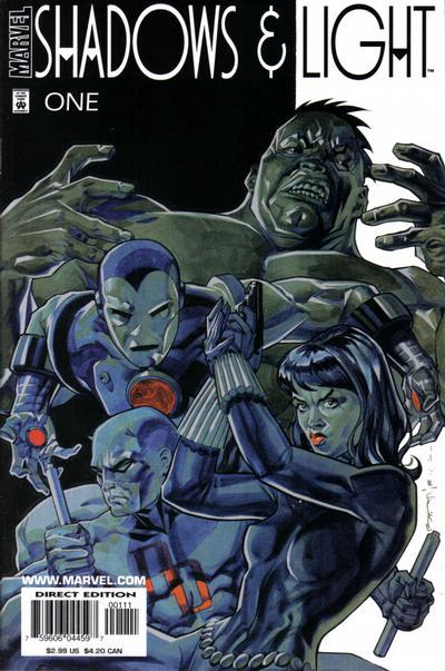 Cover for Shadows & Light (Marvel, 1998 series) #1