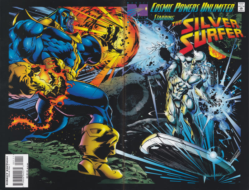 Cover for Cosmic Powers Unlimited (Marvel, 1995 series) #1