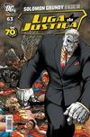 Cover for Liga da Justiça (Panini Brasil, 2002 series) #63