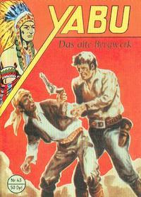 Cover for Yabu (Semrau, 1955 series) #43