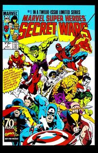 Cover Thumbnail for Hasbro / Secret Wars (Marvel, 2009 series) #1